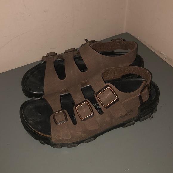e92246539cf Birkenstock Shoes - Birkenstock tatami sandals 38 L 7 brown fisherman